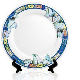 Тарелка с орнаментом лотос