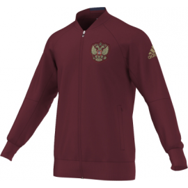 Олимпийка Сборная России Adidas бордовая