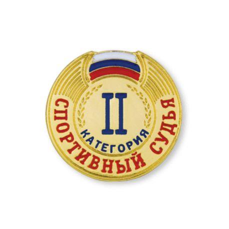 Знак спортивный судья 2 категории Спортивный_судья_2_категории