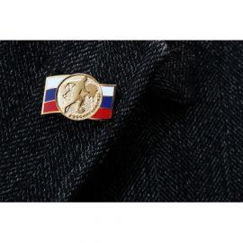 """Значок """"Россия! Вперед!"""""""