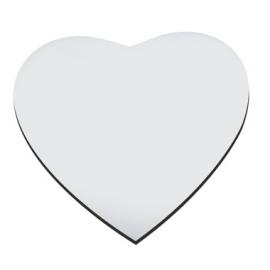 Коврик для мыши в форме сердца