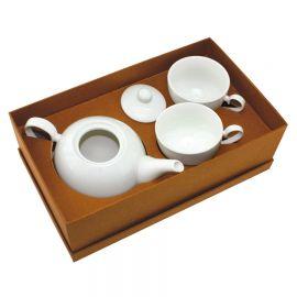 """Чайный набор """"Five o`clock"""": чайник и две чайные пары"""