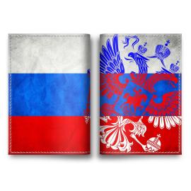 "Обложка на паспорт ""РОССИЯ"""