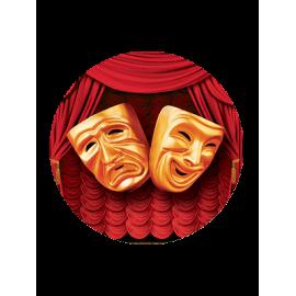 "Вкладыш заливной ""Театр"""