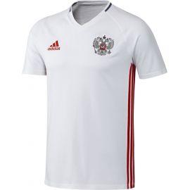 Футболка Адидас белая с гербом