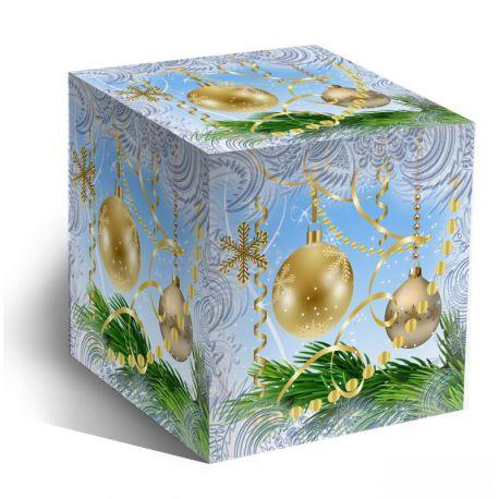 Коробка для кружки Новогодние шары