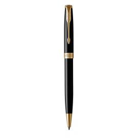 Шариковая ручка Parker Sonnet 2016 Lacquer Deep Black GT