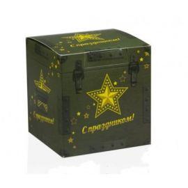 Коробка для кружки 23 февраля