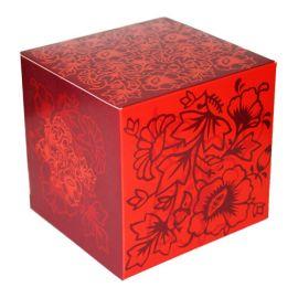 Коробка для кружки красная