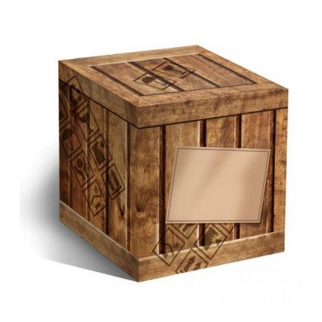 Коробка для кружки Деревянный ящик