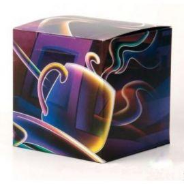 Коробка для кружки фиолетовая