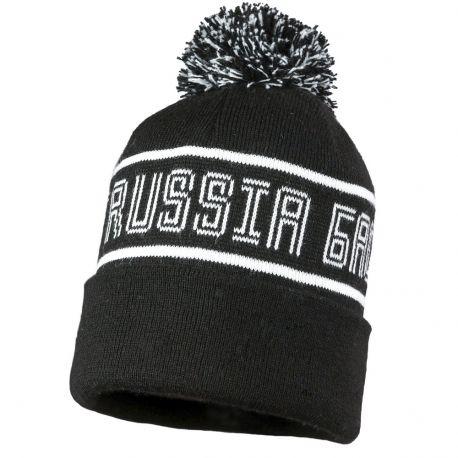 """Шапка """"Russia Баскет"""" черная"""