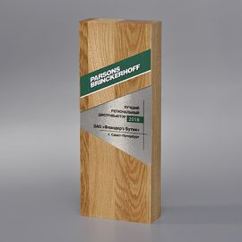 Награда из дерева WA012