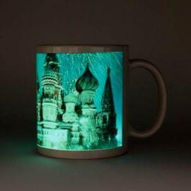 Кружка керамика флуоресцентная