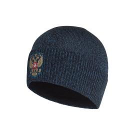 Шапка Россия (синий)