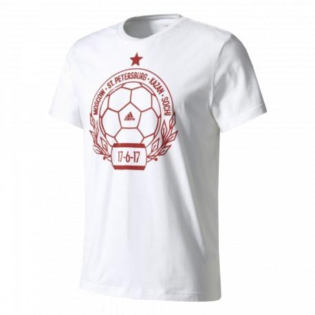 Футболка мужская Россия Stamp Adidas