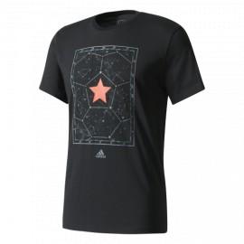Футболка мужская Россия Space Adidas черная