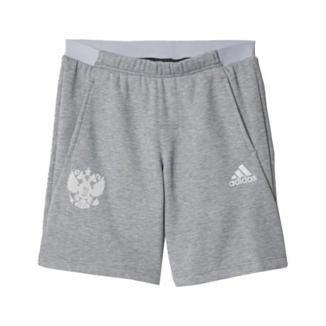 Шорты casual Сборная России Adidas серые