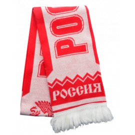 Шарф Россия красный