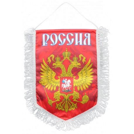 Вымпел Россия большой красный