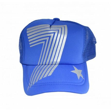 Бейсболка №1 синяя