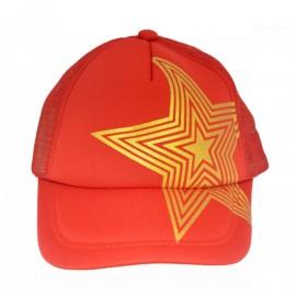 "Бейсболка ""Звезда"" красная"