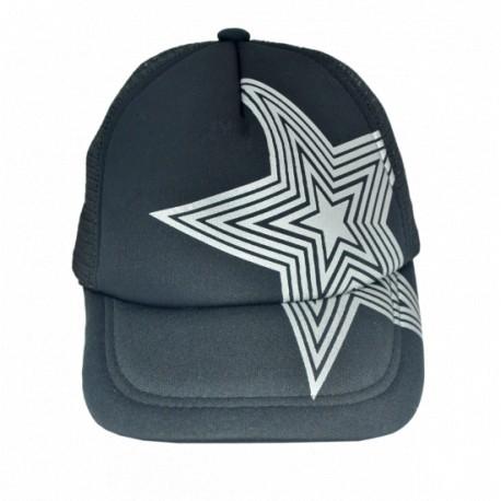 """Бейсболка """"Звезда"""" черная"""