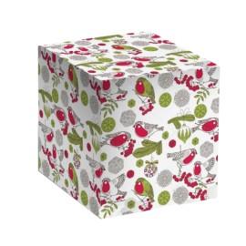 Коробка для кружки Снегири