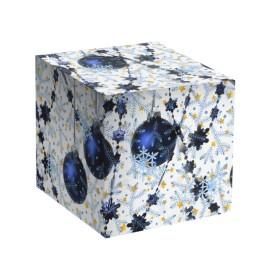 Коробка для кружки Синие шары