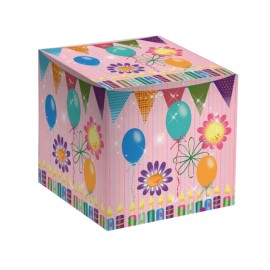 """Коробка для кружки """"С днем рождения"""""""