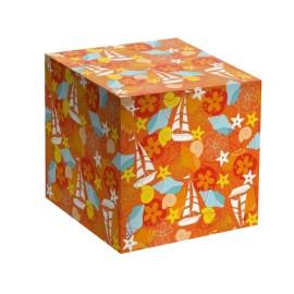 Коробка для кружки оранжевая