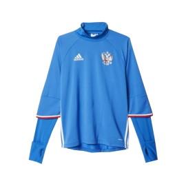 Топ тренировочный Сборная России AC5799 голубой цвет