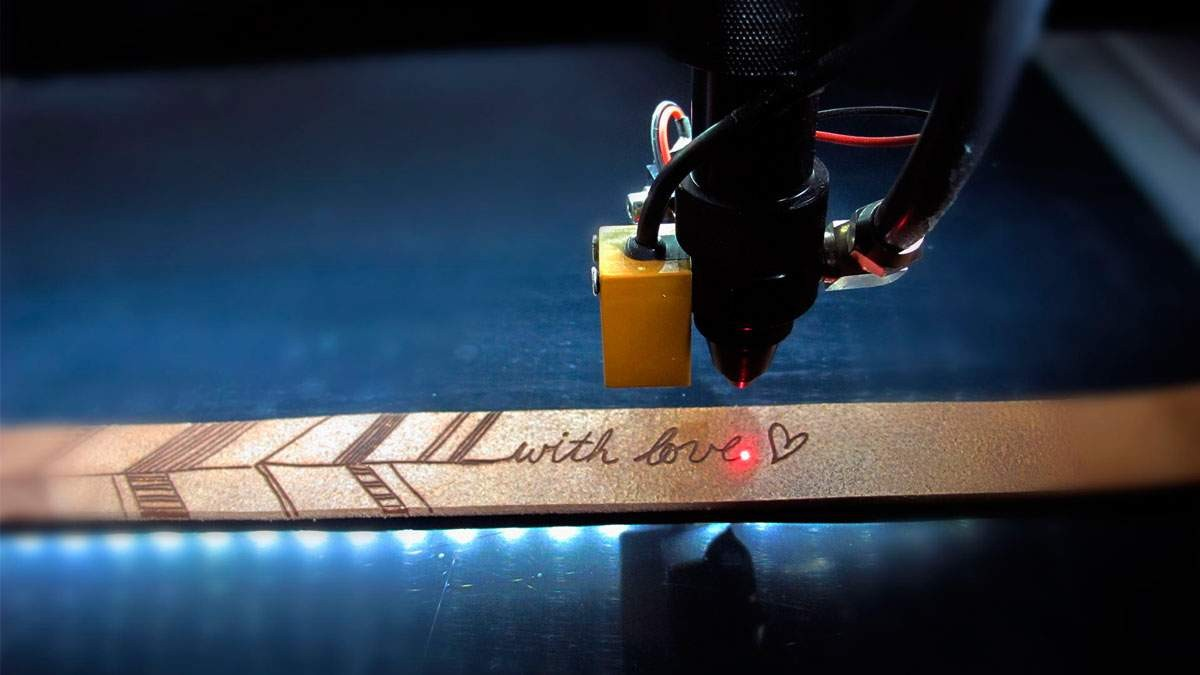 Лазерная гравировка CO2