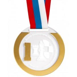 Медаль с лентой M325-K