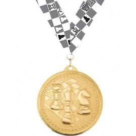 Медаль с лентой M334-K