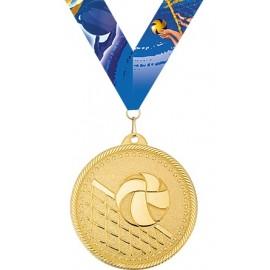 Медаль с лентой M301-K