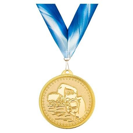 Медаль с лентой M333-K