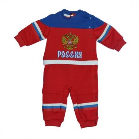 Детский костюм Россия красный