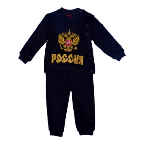 Детский костюм Россия черный