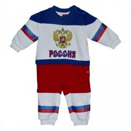 Детский костюм Россия белый