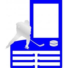 Медальница Хоккей деревянная