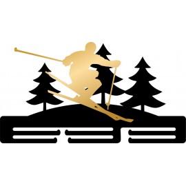Медальница Лыжи NN448