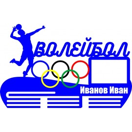 Медальница Волейбол NN310