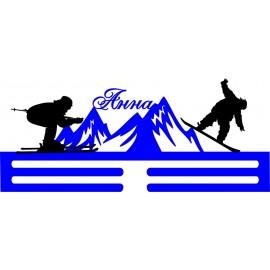 Медальница Лыжи NN506