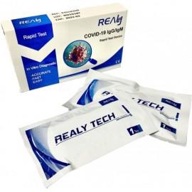 Экспресс-тест на антитела Sars-CoV-2 Realy Tech IgM/IgG (5 шт.)