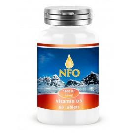 Norwegian Fish Oil Витамин Д3 1000 МЕ таблетки (60 шт.)