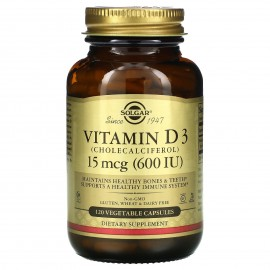 Солгар Витамин D3, капсулы 600 ME (120 шт.)