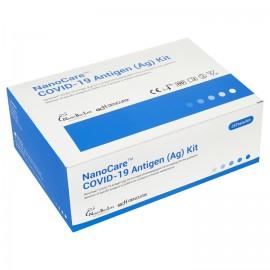 Экспресс-тест на антиген NanoCare COVID-19 Antigen (25 шт.)