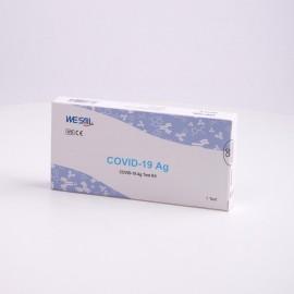 Экспресс-тест на наличие антигена SARS-CoV-2 COVID-19 Ag (2 шт.)